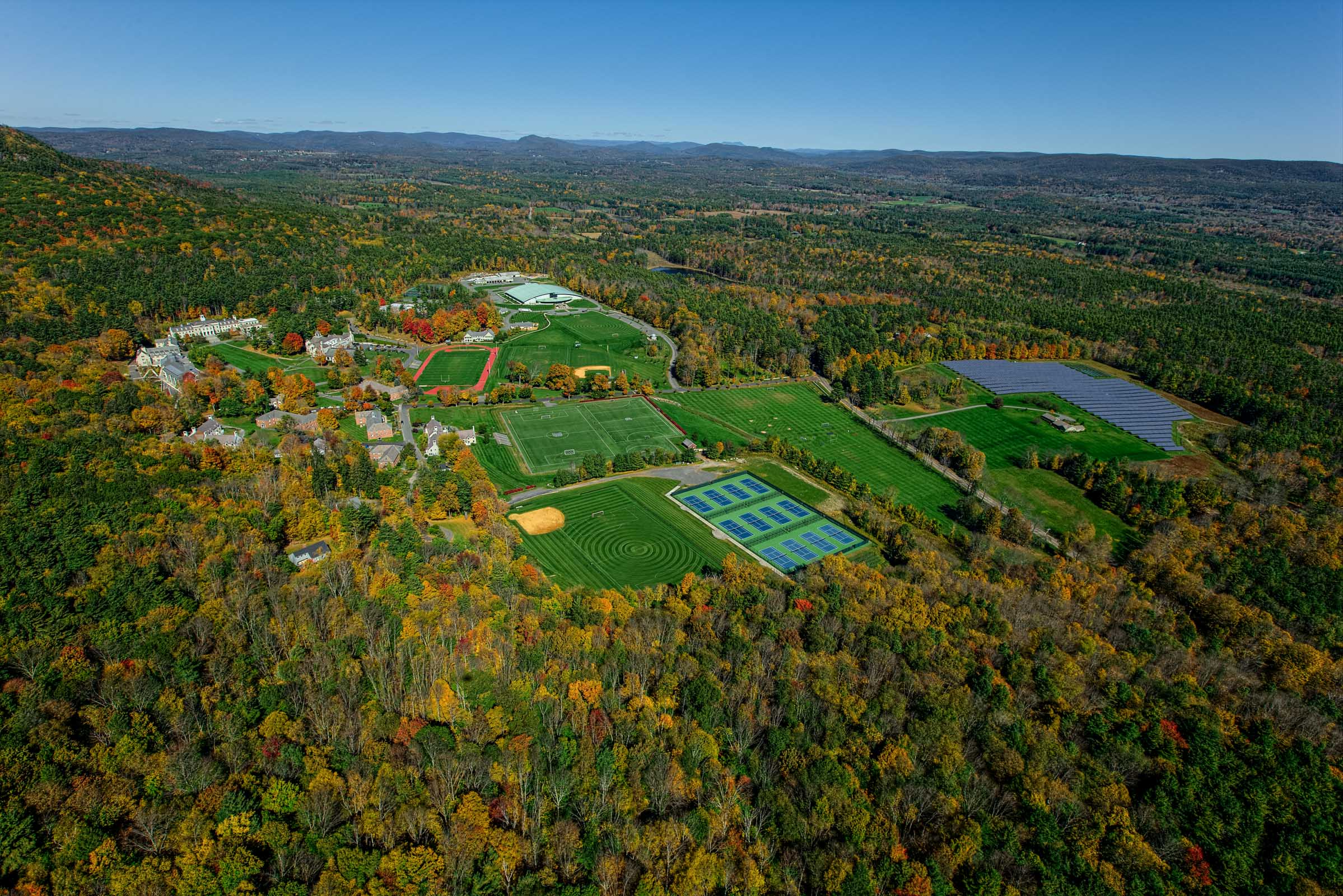 Berkshires MA aerial photography Stefen Turner photographer