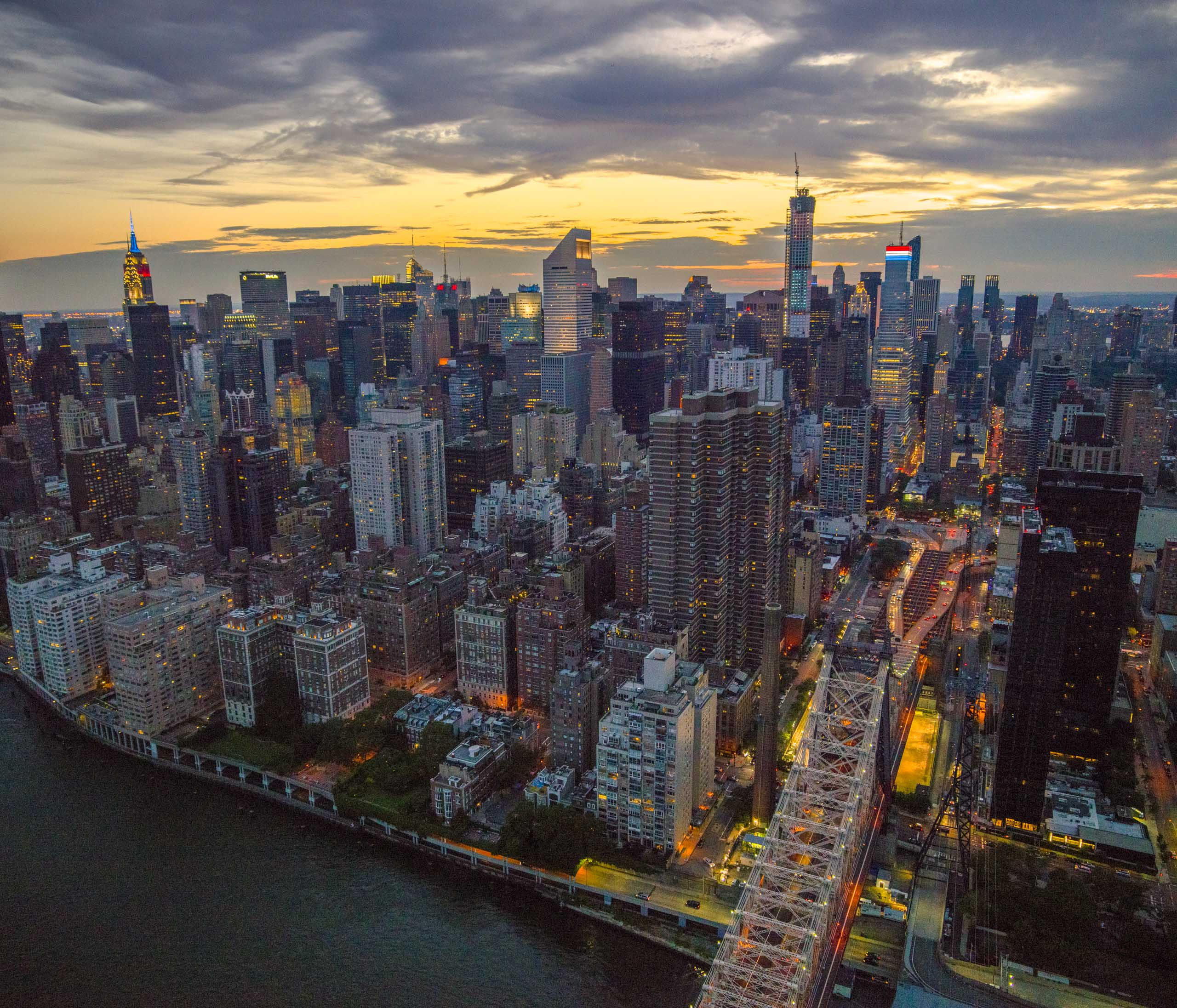 New York NY aerial photography Stefen Turner photographer NYC
