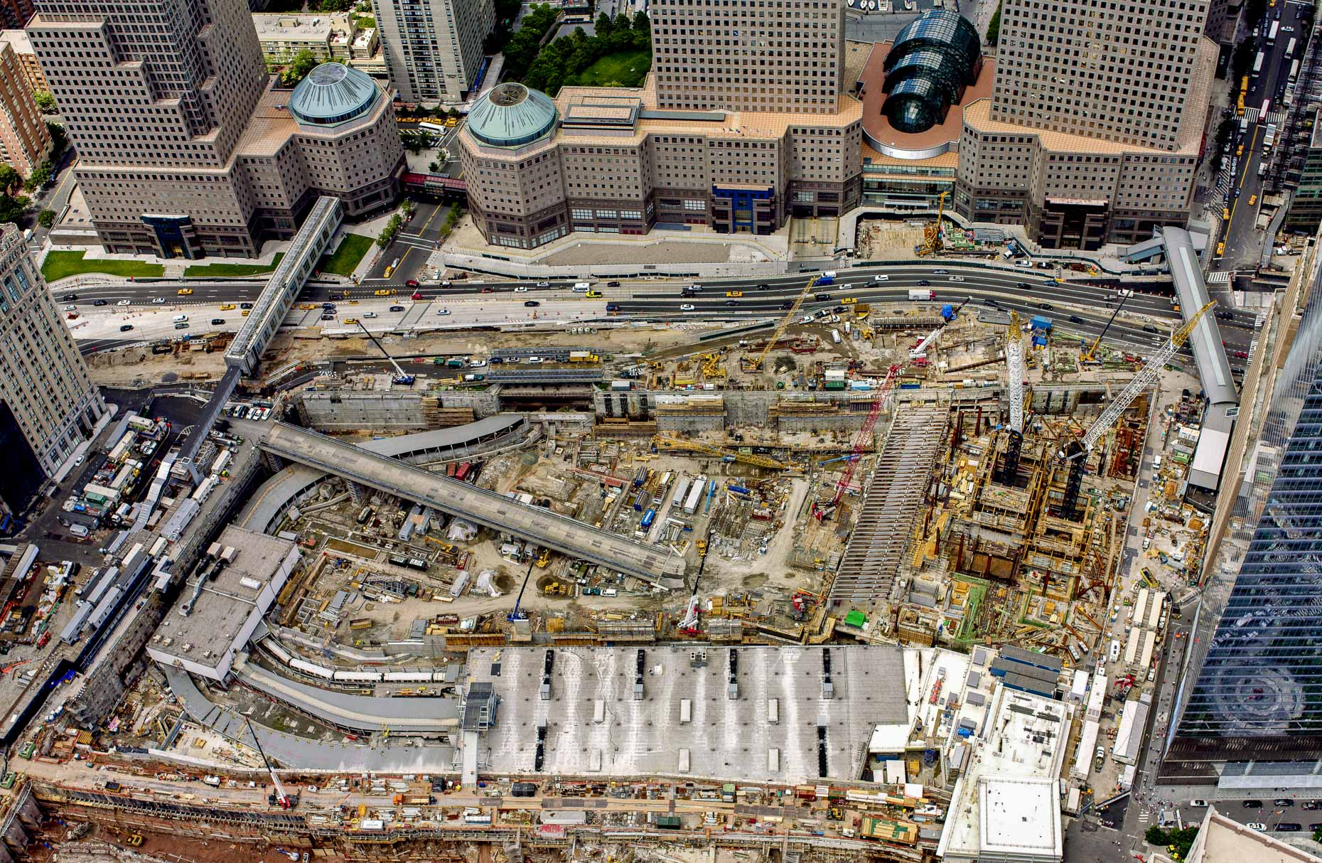 New York City aerial photography | Ground Zero - World Trade Center