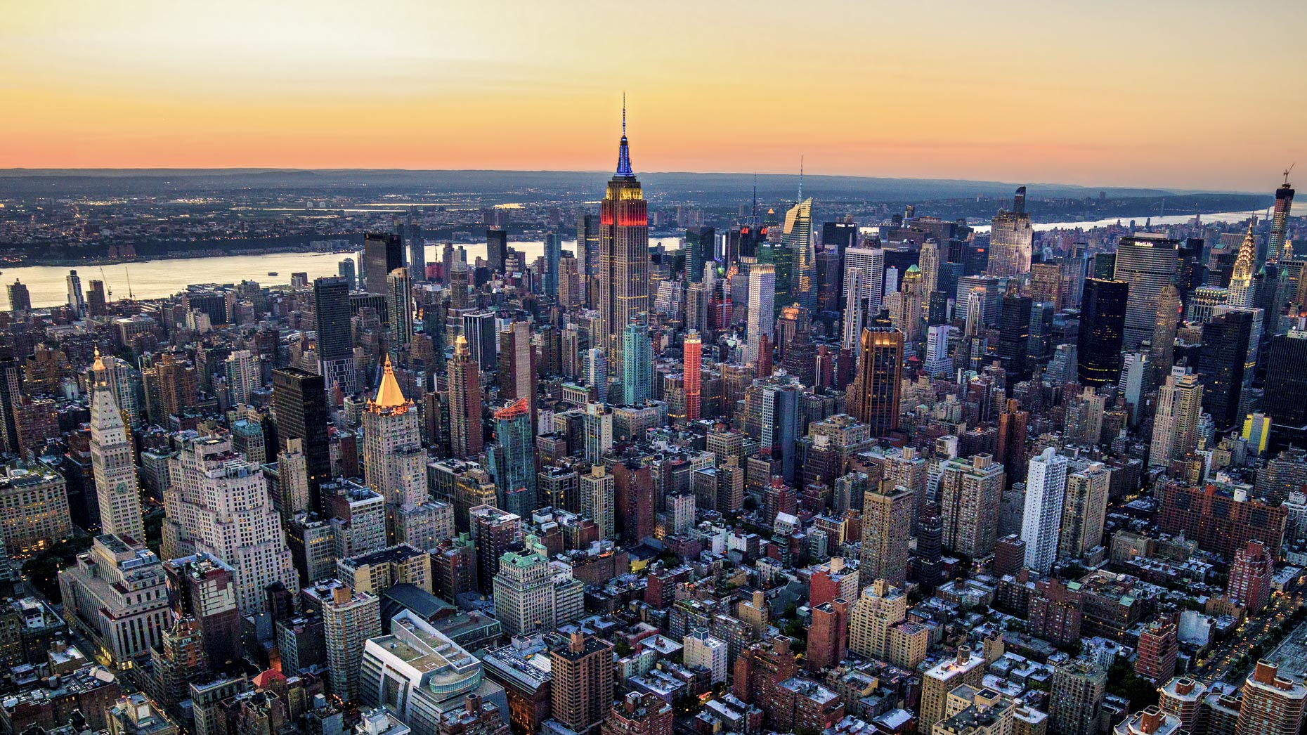 New York City aerial photography by Stefen Turner | The Big Apple on the 4th of July