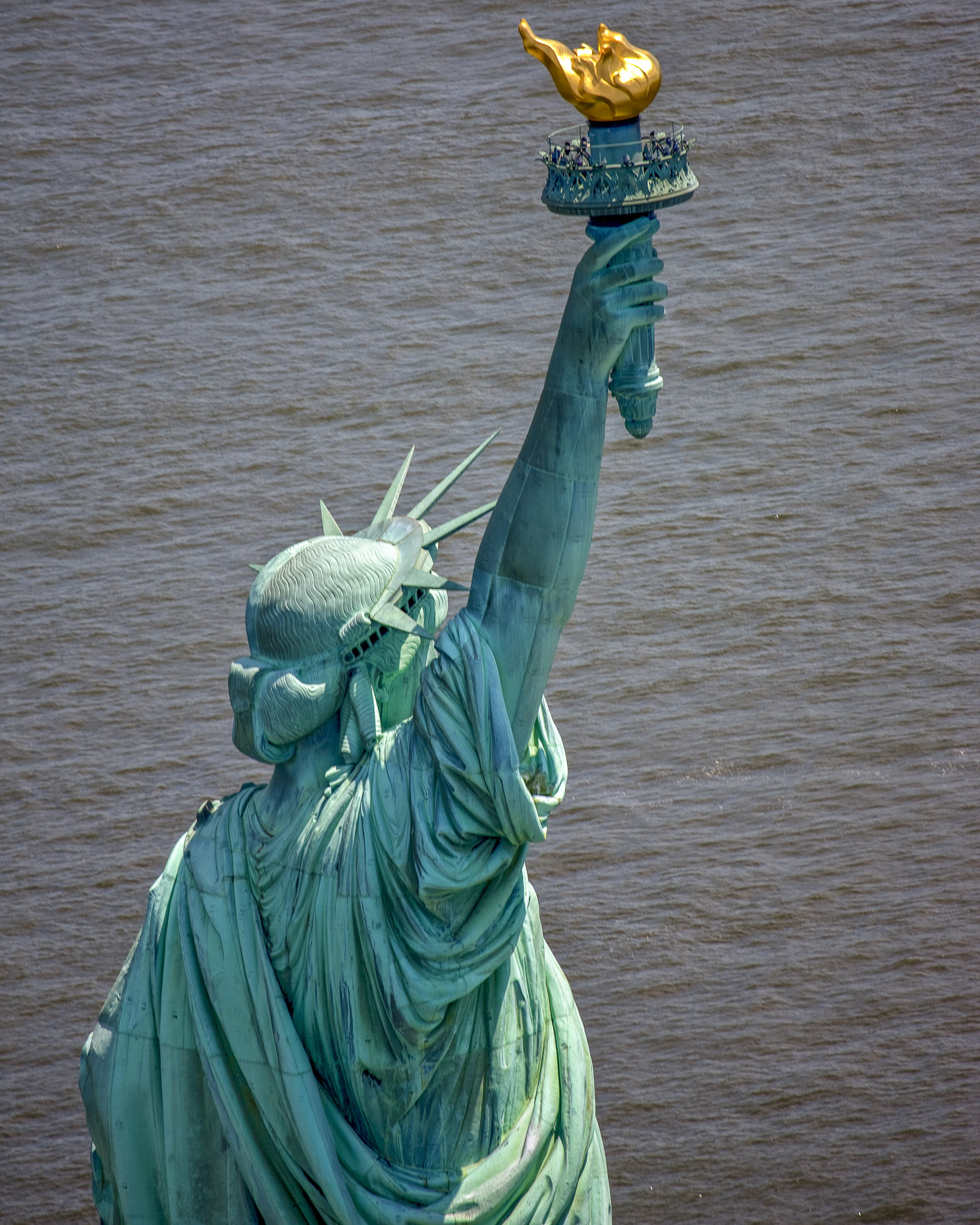 New York City aerial photography | Statue of Liberty