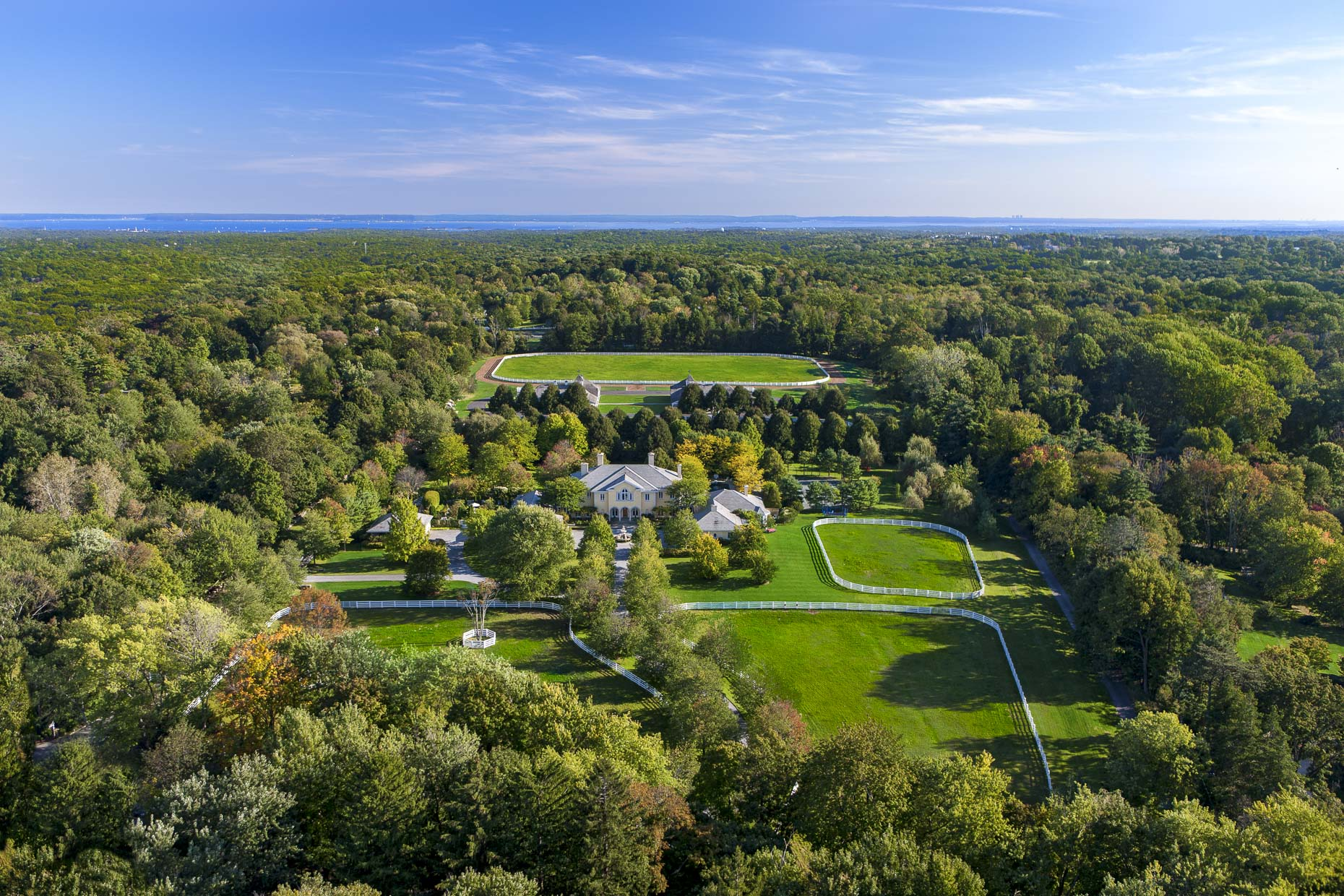 Equestrian Estates of Greenwich Connecticut | Aerial photography by Stefen Turner