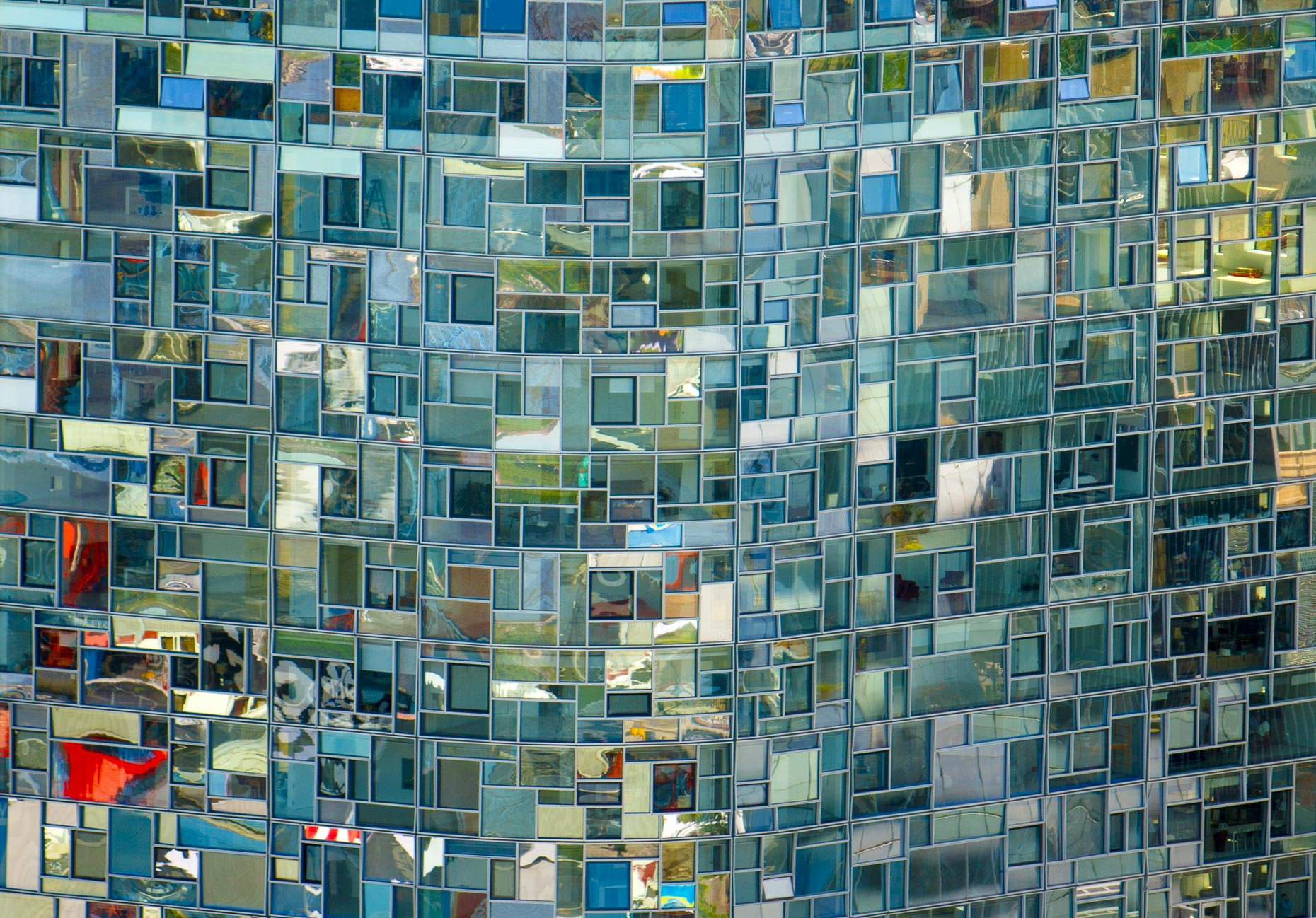 "New York City aerial photography | ""Vision Machine"" Jean Nouvel 100 Eleventh Ave NYC"
