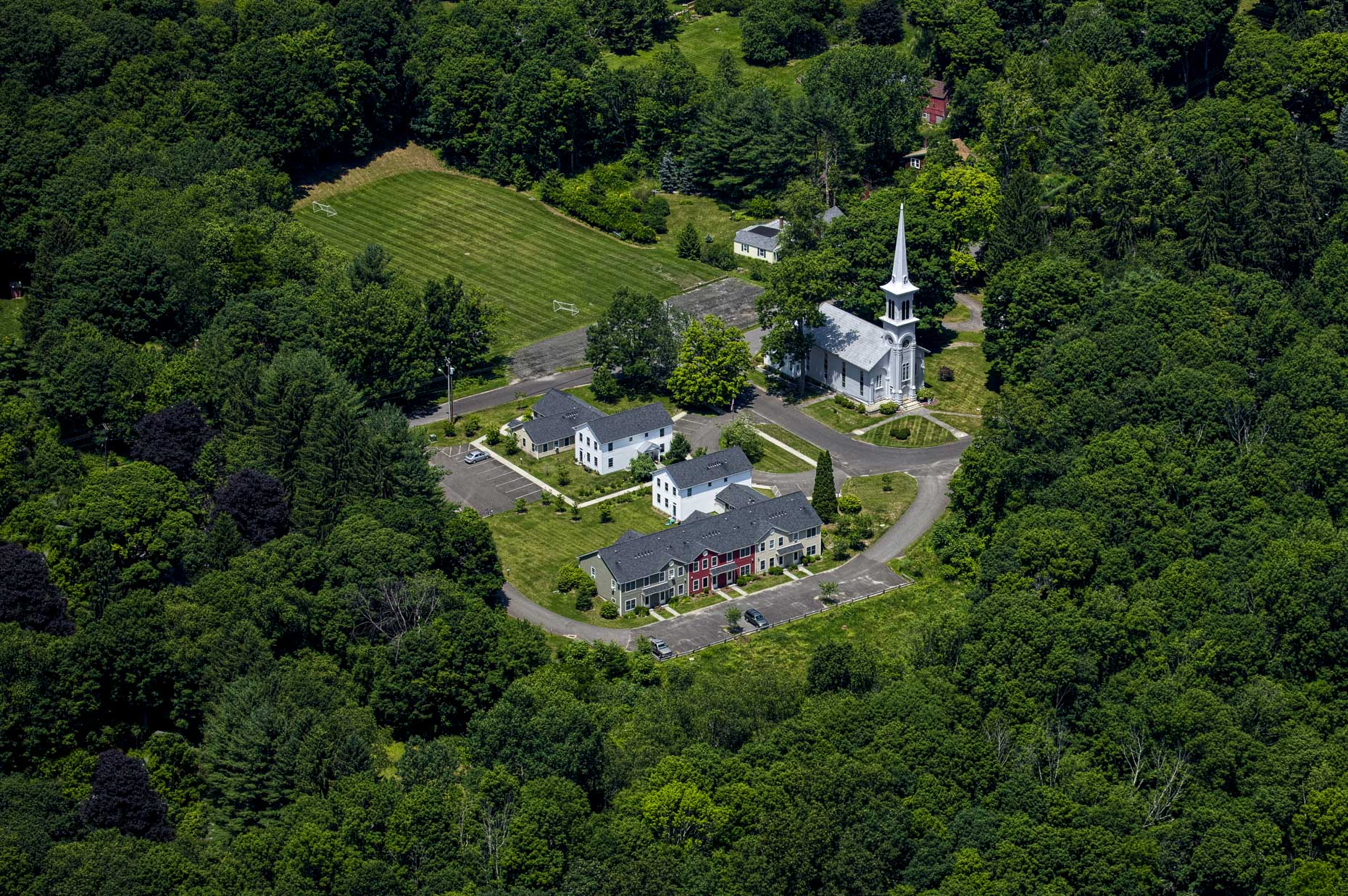 Fairfield county aerial photography Stefen Turner architectural photographer Easton