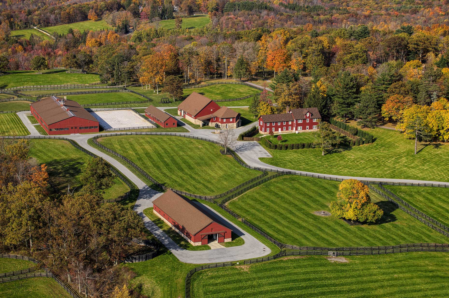 Equestrian Estates of Westchester County | Aerial photography by Stefen Turner
