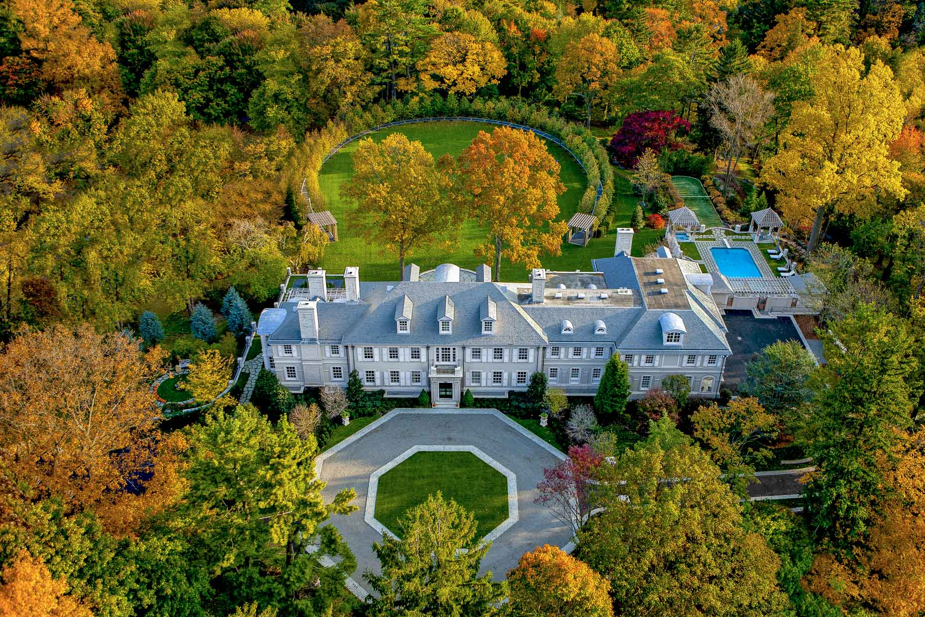 Estates of Westchester County | aerial photography by Stefen Turner