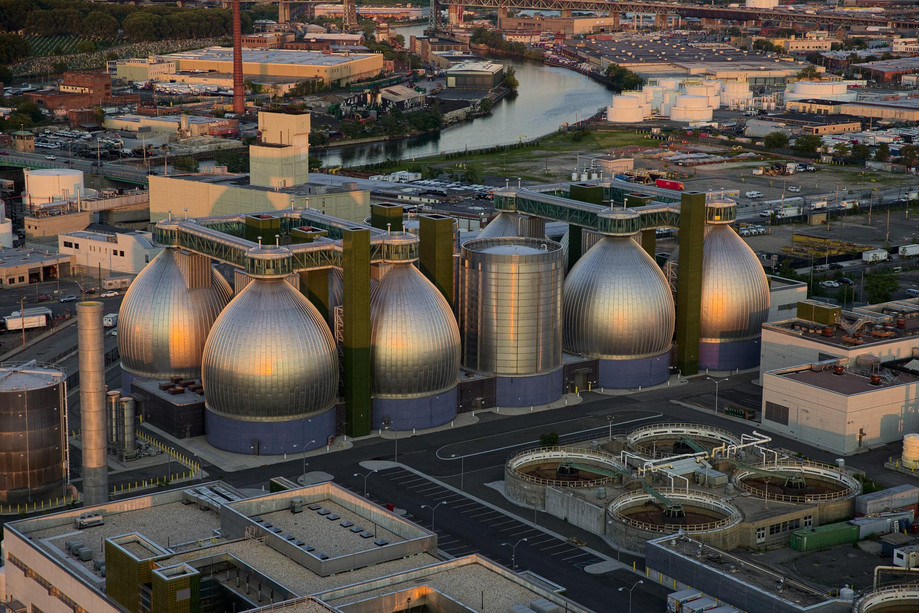 Newtown Creek Digester Eggs in Brooklyn NY | client: Ennead Architects