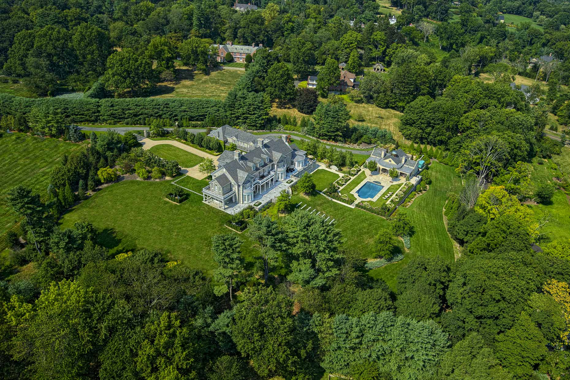 Greenwich Connecticut | aerial photography by stefen turner