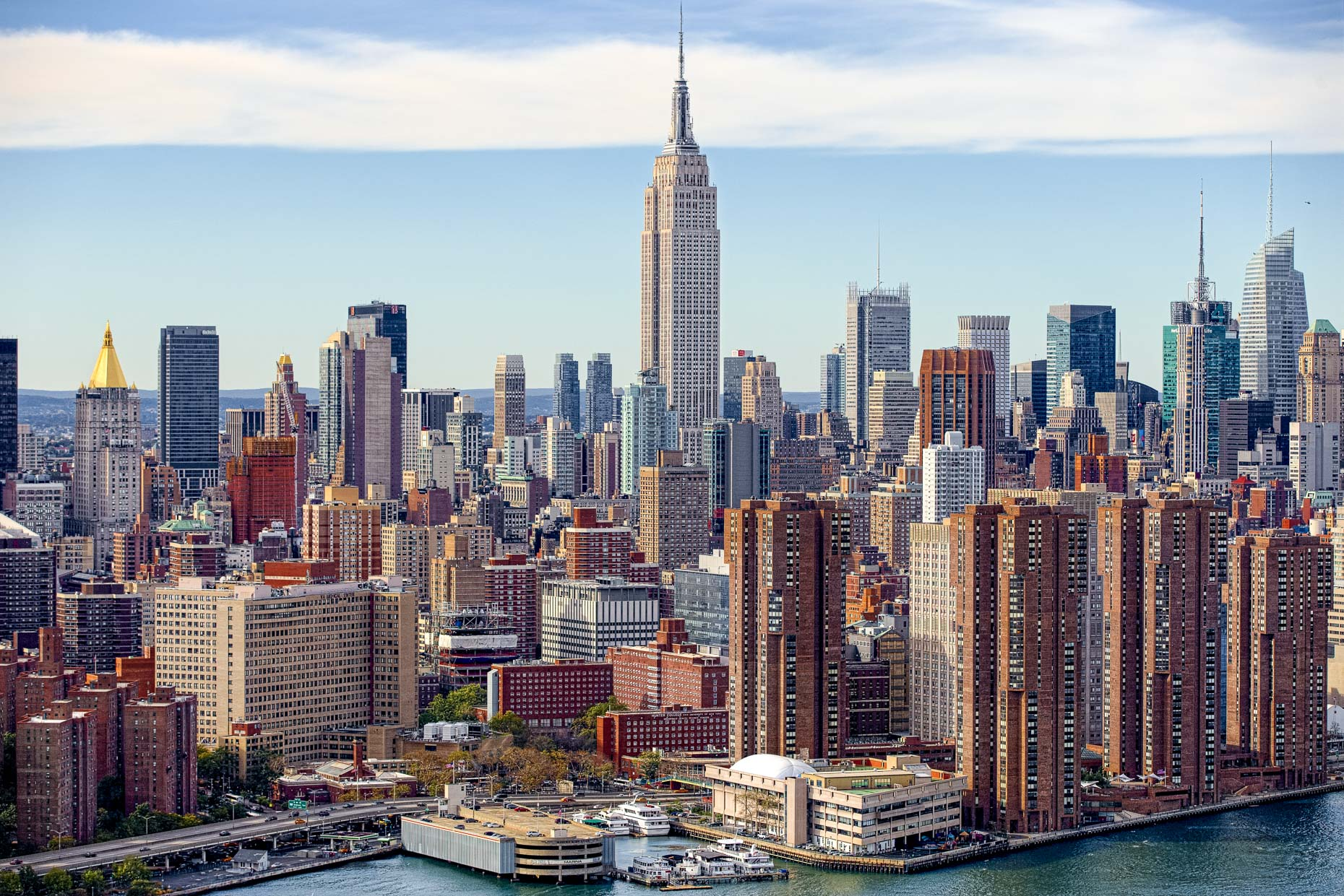 NY LA Aerial Photographer | New York City Skyline