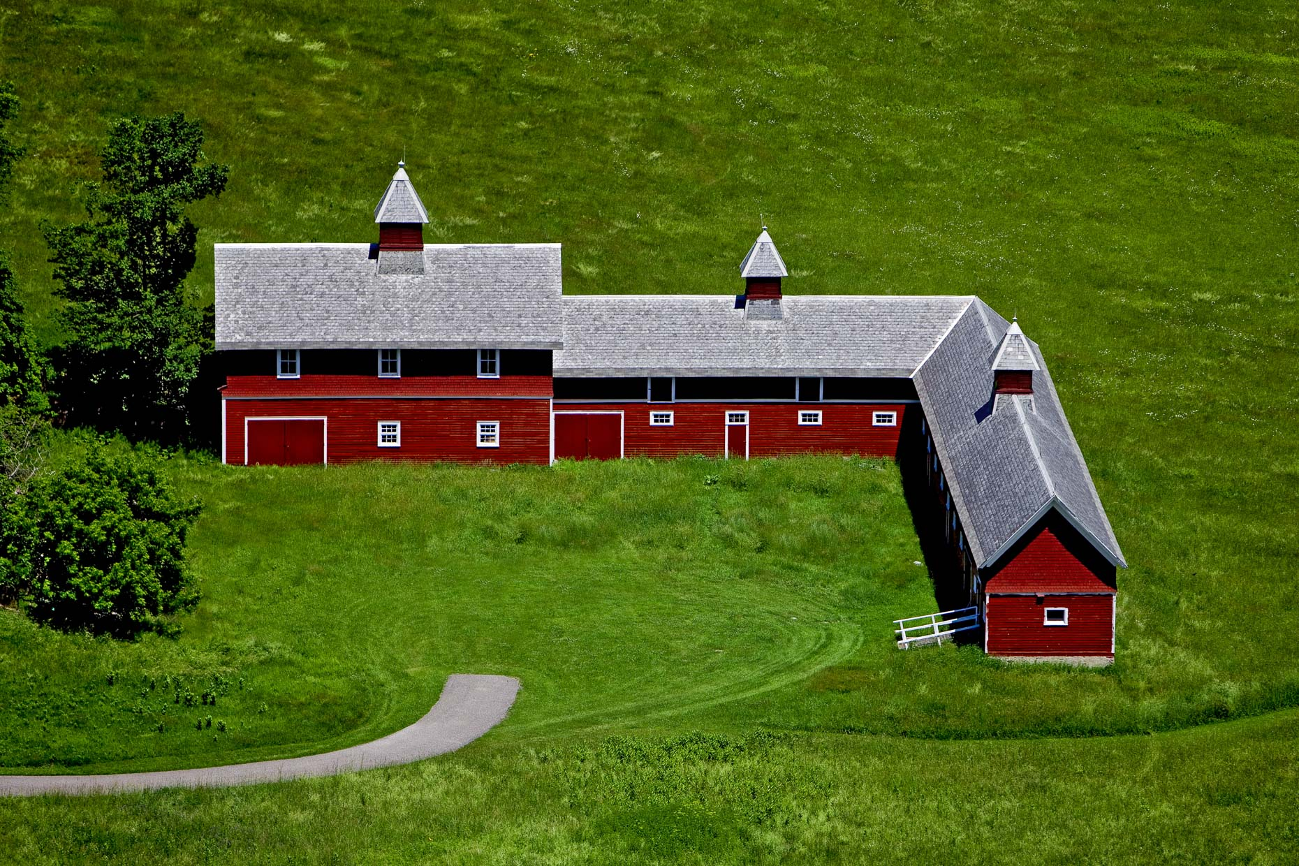 Aerial Photography of Rural Landscapes
