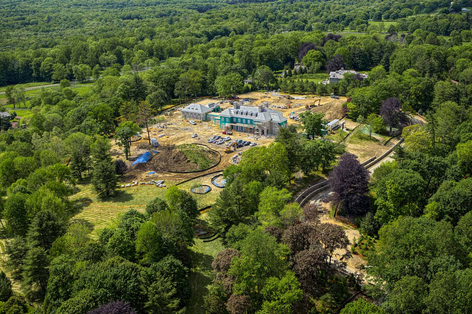 Westchester aerial photography Stefen Turner architectural photographer Armonk