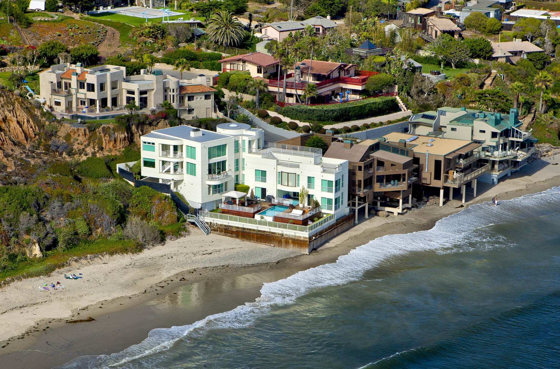 Los Angeles aerial photography Stefen Turner Architectural Photographer Malibu